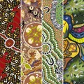KOOKA'S KOOLERS in beautiful Aboriginal design art fabrics NEW