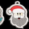 Free Standing Santa Beard 1