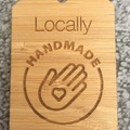 Product Tags - Card style #4 from Bamboo. From $1.20 per Tag - FREE Shipping