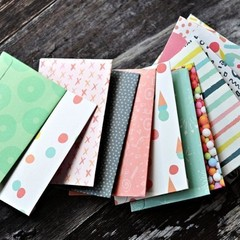 Pocket Envelopes {12} Summer Party Print | Money Envelopes