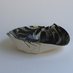 Medium Marbles Origami Bowl