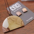 The Shallows Collection - resin pendant
