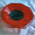 Orange trinket bowl