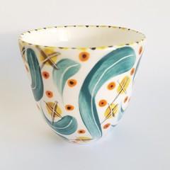 Handmade, Japanese Style, Porcelain, Tea Cup
