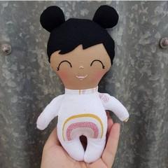 handmade mini baby doll