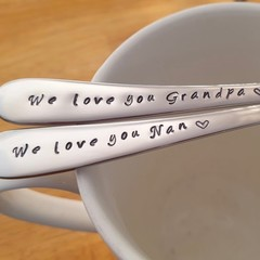 Personalised Gift,Grandmother, Grandfather,Nana, Pop,Spoon,Custom gift,Pa,Pop,