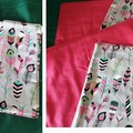 Fabric reversible Placemats - 4 place setting
