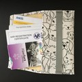 Document Pouch Sleeve for Pet Dog Vaccination Record Certificates Vet Visits