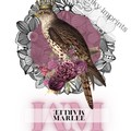 Marlee Vintage Floral Bird Custom Name Digital Download