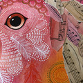 'Orla' - original mixed media watercolour painting