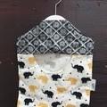Fabric Hanging Peg/Hair Tie/Socks/Cleaning Cloths/Knick Knack Bag