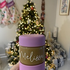 Personalised Coffee Cup Name Label