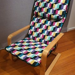 Fabric Cover fit Ikea Pello Chair