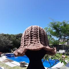 Sun Hat, Crochet hat, Summer headwear