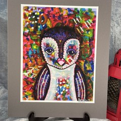 Owl Limited Edition Print - 8/25