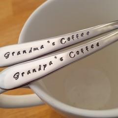 Grandma's Coffee, Grandpa's Coffee, Grandparent Gift,Mother's day, Father`s Day