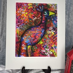 Peacock Limited Edition Print - 15/25
