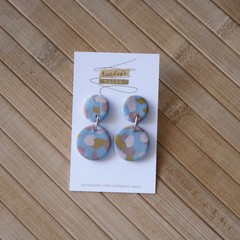 Polymer Clay Drop Earrings