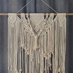 Large macrame wall tapestry