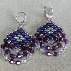 Beaded Crystal Earrings