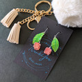 Bell Flower Drop Earrings (Pink) - Handmade Kawaii Flowers