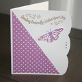 FEMALE BIRTHDAY CARD  (FREE POSTAGE)