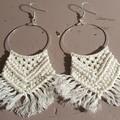 The Kristy Boho Macrame Earrings