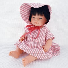 Dolls Dress, Bloomers and Bonnet | Baby Born | Miniland