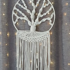 Macrame Tree of Life Tapestry