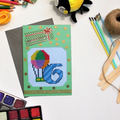 Six Children's Age Birthday Cards (Cross Stitch)