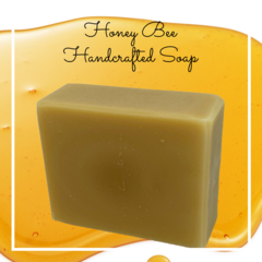 Honey Bee Handcrafted Soap | 140g Bar - Palm Oil Free.