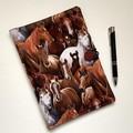 Horses A5 Fabric Compendium