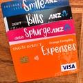 Bank Card Labels