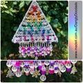 Rainbow Triangle Suncatcher