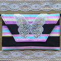 Patchwork butterfly Purse