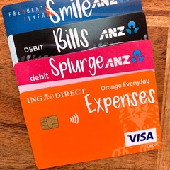 Bank Card Labels
