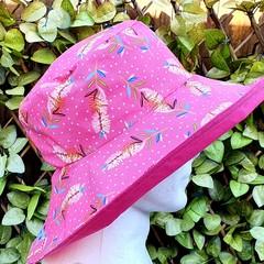 Pink Banksia Wide Brim Hat