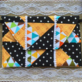 Polkadot Patchwork Purse