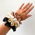 Scrunchie   Cheesecloth   Black