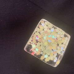 Hand Crafted Resin Brooch
