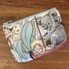 Coin purse - koala on the good luck boat