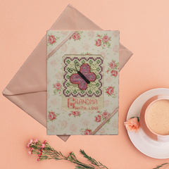 Five Occasion Cards for Grandma/Nanna (Cross Stitch)