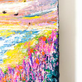 'Distant Dreams and Dragons III' Series Abstract Landscape Seascape Painting