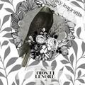 Lenore Grey Vintage Floral Raven Custom Name Digital Download