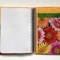 Gerbera/daisies A5 Fabric Compendium