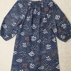 Peasant dress - long sleeve - Cloud 9 wildwood fabric