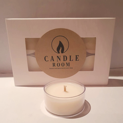 Scented Soy Tealight Candles | Mixed Scents | 6 pack