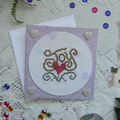 Six Special Occasion Cards (Cross Stitch)