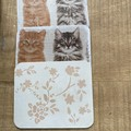 Decoupage Shabby Chic Coasters