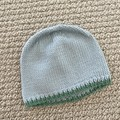 Blue Baby Hat - Hand knitted